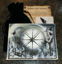 Crystal Pendulum, Raven Oracle Chart, Divination,