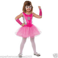 Spider-Man Spider Girl Classic Costume Large Size12-14 PINK RUBIES 620033 NEW