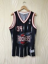 HOUSTON ROCKETS BASKETBALL SHIRT JERSEY CHAMPION OLAJUWON #34 NBA