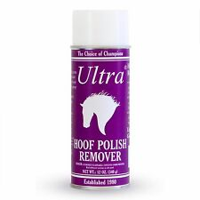 Schneiders Horse Ultra Hoof Polish Remover Spray 12oz Removes from clothing!