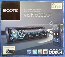 NEW Sony MEX-N5000BT CD USB Car Audio Stereo Bluetooth Receiver App Remote