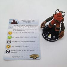 Heroclix Bioshock Infinite set Vox Handyman #008 Gravity Feed figure w/card!