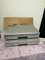 Samsung DVD / VCR V6700S VIDEO TAPE VHS PLAYER + DVD-V5600 - FAULTY