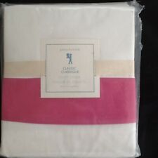 POTTERY BARN KIDS CLASSIC  DUVET COVER TWIN PINK NEW