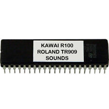 KAWAI R100 R50 - ROLAND TR909 TR-909 SOUNDS Eprom Drum Machine Vintage