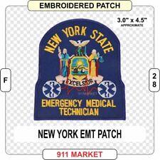 New York EMT Patch NY Medic State EMS Ambulance Emergency Medical US FDNY - F 28