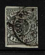 Luxembourg Sc# 4, Used, Very shallow small upper right corner thin - Lot 040917
