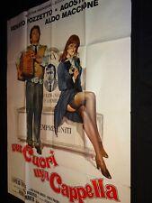Due cuori, una cappella   Agostina Belli affiche cinema 1975