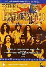 LYNYRD SKYNYRD : FREEBIRD THE MOVIE / TRIBUTE TOUR - DVD - UK Compatible -sealed
