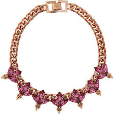 MAWI  Pink Crystal Necklace - BNIB
