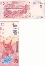 Argentina/Argentina - 20 Pesos (2017) UNC Pick NEW
