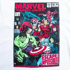 Marvel Jan. 1968 Marvel Comics Group Classic Vintage AVENGERS Cover T-Shirt XL