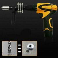 Professionelle elektrische Nietmutter Pistole Adapter S8Q6 Akku I Bohrmasch U5M2
