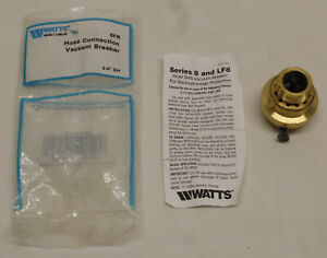 """Watts 3/4"""" Brass Hose Connection Vacuum Breaker Manual Freeze Relief  8FR"""