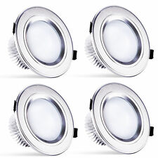 4pc 15W Downlight LED Round Bulb Recessed Ceiling Light Warmwhite Spot Lamp 110V