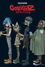 "011 Gorillaz - English Virtual Band Damon Albarn Jamie Hewlett 14""x21"" Poster"