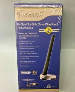 New 1pc - Hawking HAI7SIP 2.4GHz Hi-Gain Omni-Directional 7dBi Antenna USA