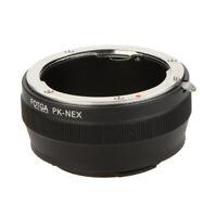 Fotga PK-NEX Anillo Adaptador digital para Pentax PK Montura de la lente K pa V7
