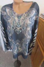 Reba 2 piece Embellished Tunic  New size 1X