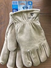 Medium Insulated Lined Leather Size XL Deerskin Work Glove West Chester 95500/Xl