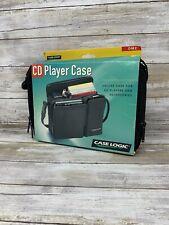Case Logic Vintage Padded Black Portable CD Player CD Bag Case