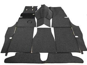 Black loop carpet set for Opel Kapitän 51  3/1951- 7/1953 Carpet Kit