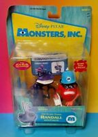 New Sealed Monsters Inc. Top Scare Teams Randall with Fungus Disney Figure Set