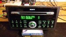 FORD SONY CD132 CD6 CDX FC132 CAR RADIO 6CD PLAYER (VGC)