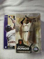 BARRY BONDS MCFARLANE MLB SERIES 5 SAN FRANCISCO GIANTS WHITE JERSEY FIGURE NEW