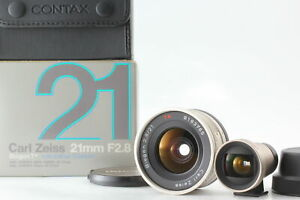 [MINT BOX] Contax Carl Zeiss Biogon T 21mm F/2.8 w/ Finder for G1 G2 Japan