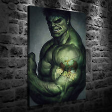 HD Print Oil Painting Home Decor Art on Canvas Hulk for Fun 12x18inch Unframed