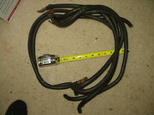 """Four 30"""" and Two 34""""Belden 1 Awg Copper Cables with terminals on one end used"""