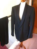 Boys Black Tuxedo Suit Dinner Jacket Trousers Shirt Dickie Bow 10 14 Years Ebay