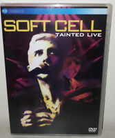 DVD SOFT CELL - TAINTED LIVE - MILAN - NUOVO NEW