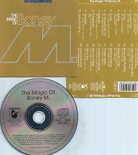 BONEY M-THE MAGIC OF BONEY M-20 GOLDEN HITS-83-GERMANY-HANSA REC.252 505-CD-MINT