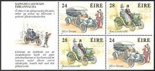 Ireland 1989 Classic Cars/Vintage/Benz/Motoring/Transport/History 4v pane n30183