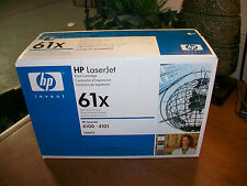GENUINE HP 61X Black HIGH YIELD Toner Cartridge (HP C8061X) 4100 NEW SEALED!!!