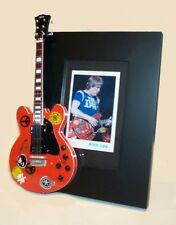 ALVIN LEE  Miniature Guitar Frame Ten Years After