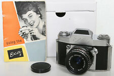 Ihagee (Exakta) Exa II 35mm Camera With Meyer Domiplan 50mm f2.8 Lens