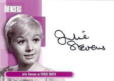Avengers Series 1 Auto Autograph Card A5 Julie Stevens as Venus Smith
