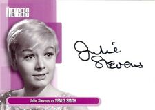 Avengers Series 1 Auto Card A5 Julie Stevens as Venus Smith