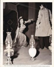 YVONNE DE CARLO Salome ORIGINAL Candid on Set Vintage '45 Universal Studio Photo