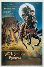 "BLACK STALLION RETURNS 1983 Original 27x41"" One Sh Poster Francis Ford Coppola"
