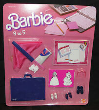 BARBIE FINISHING TOUCHES 9 TO 5 #2775 1985 ACCESSORI ACCESSORIES SHOES SCARPE