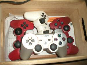 PS3 Sony Controller defekt farbig