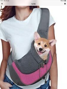 Pet Dog Cat Puppy Carrier Comfort Tote Shoulder Travel Bag Sling Backpack Bag