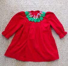 Austin & Ashley - Red Christmas Dress Corduroy  - 3T