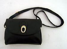 Abendtasche Handtasche Ledertasche Hand Tasche schwarz
