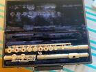 Artley+Open+Hole+Flute+Silver+W%2FPlugs+and+Hard+Case+Pre-Owned