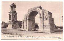 en provence , st-rémy , les antiquités romaines , ruines de l'ancienne ville